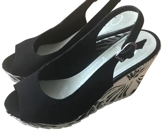 Preload https://img-static.tradesy.com/item/23628753/apepazza-black-grey-great-condition-wedges-size-eu-37-approx-us-7-regular-m-b-0-1-540-540.jpg