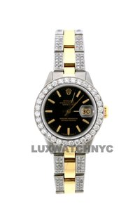 Rolex 3ct 26mm Datejust Gold S/S with Box & Appraisal Watch