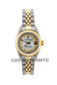 Rolex 26MM LADIES DATEJUST GOLD SS WITH BOX & APPRAISAL