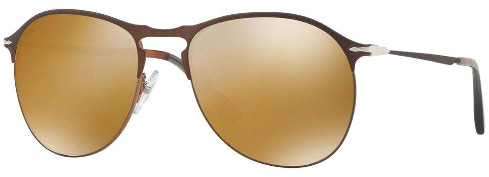 392a4a3ea9 Persol Brown   Brown Gold Unisex Po7649-s 1072 W4 Frame Brown Gold Lens  Sunglasses