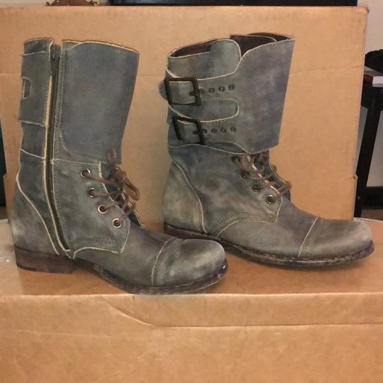 Matisse Distress Lace Up Boot distressed green Boots Image 5