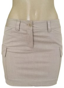 Theory Mini Skirt beige