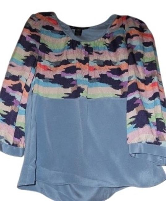 Preload https://item5.tradesy.com/images/marc-by-marc-jacobs-blue-with-prints-silk-multiple-color-blouse-size-2-xs-23629-0-0.jpg?width=400&height=650