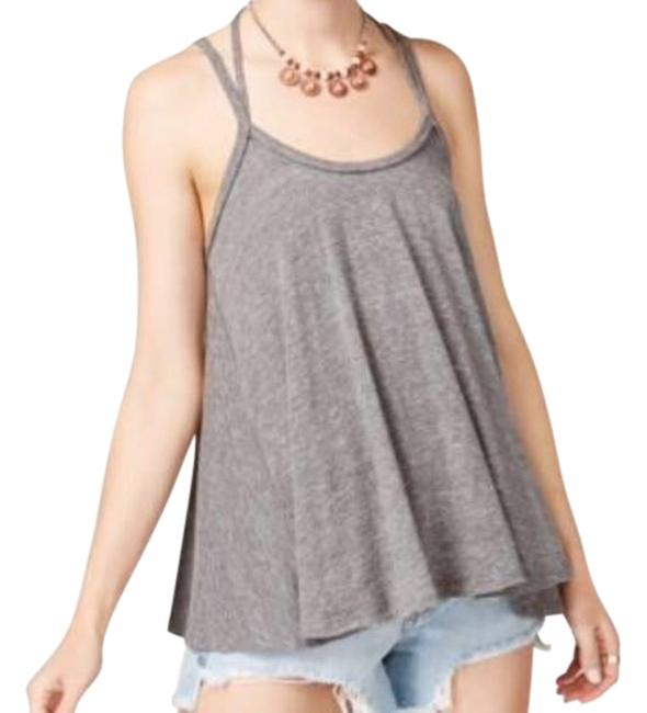 Preload https://img-static.tradesy.com/item/23629075/gray-so-in-love-with-you-swing-tee-tank-topcami-size-12-l-0-1-650-650.jpg