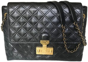 Marc Jacobs Vintage Quilted Cross Body Convertable Strap Shoulder Bag