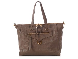 Louis Vuitton Lv Gold Hardware Lv.p0525.10 Embossed Tote in Brown