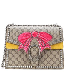 Gucci Pink Bow Dionysus Shoulder Bag