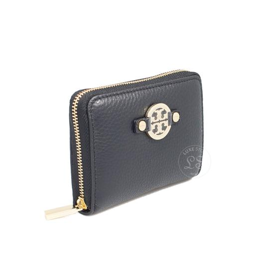 b901cdf1e958 ... Tory Burch Amanda Leather Zip Coin Case Black Image 1