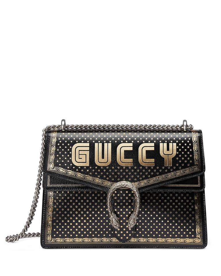 fd353f251 Gucci Dionysus Medium Black Leather Shoulder Bag - Tradesy