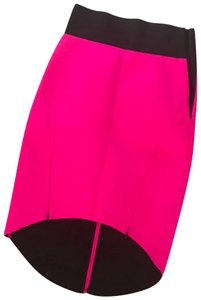 MILLY Skirt Fuchsia pink with black