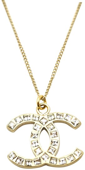 Preload https://img-static.tradesy.com/item/23629776/chanel-goldcrystals-rare-timeless-cc-baguette-necklace-0-2-540-540.jpg
