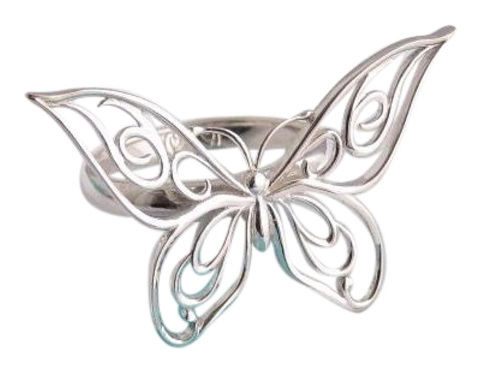 3556ab2fb Tiffany & Co. Sterling Silver Rare Huge Butterfly Ring - Tradesy