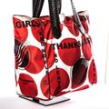 Stella McCartney Tote in Red & White Image 1