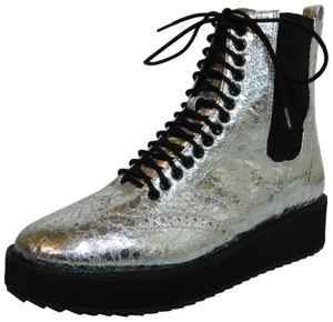 Shellys London Silver Boots