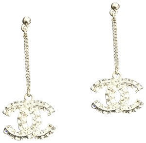 Chanel CHANEL CC DROP EARRINGS