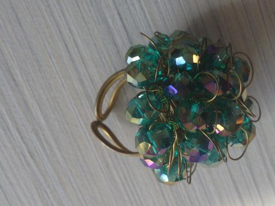 Other Green Bead Ring