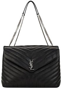 Saint Laurent Ysl Loulou Monogram Large Shoulder Bag