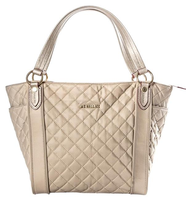 Item - Quilted Beige Nylon Tote