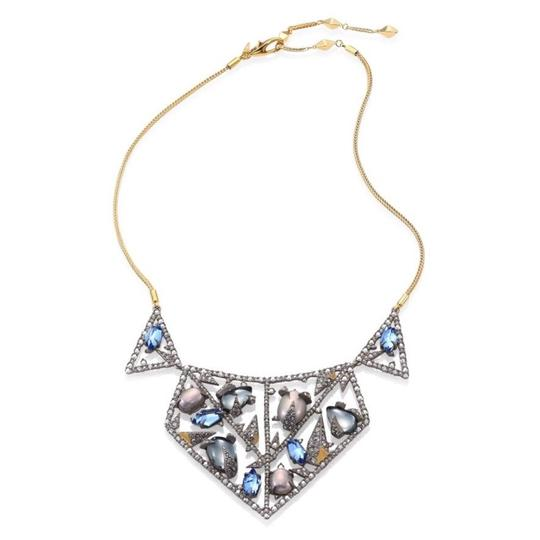 Preload https://img-static.tradesy.com/item/23630290/alexis-bittar-silver-mosaic-lace-necklace-0-0-540-540.jpg