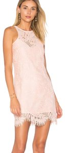 Lovers + Friends short dress blush on Tradesy