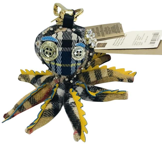 Item - Yellow Sally The Octopus Cashmere Bag Charm