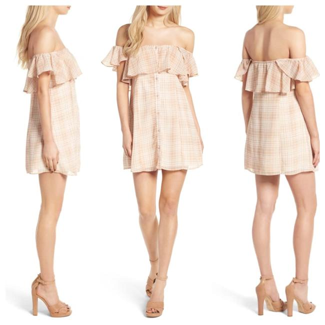 Privacy Please short dress beige/ tan on Tradesy Image 3