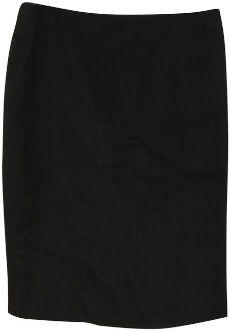 Item - Black Cashmere Italian Made Skirt Size 8 (M, 29, 30)