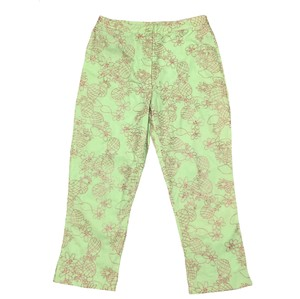 Lilly Pulitzer Capris Green Pink