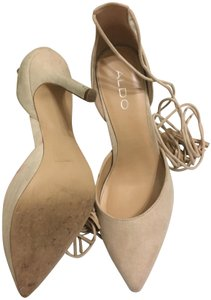 ALDO Taupe/Tan Pumps