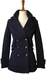 Smythe Double Collar Sale Wool Military Pea Coat