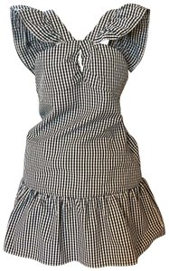 Romeo & Juliet Couture short dress black and white on Tradesy
