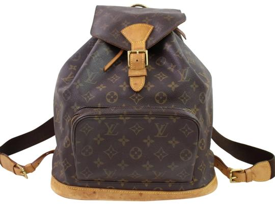 Preload https://img-static.tradesy.com/item/23631646/louis-vuitton-montsouris-monogram-gm-867119-brown-coated-canvas-backpack-0-1-540-540.jpg