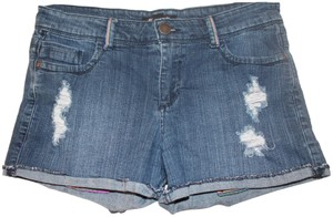 Forever 21 Cut Off Shorts Blue