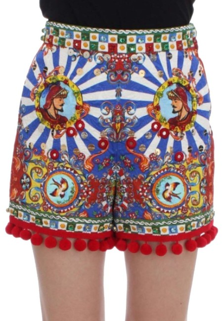 Preload https://img-static.tradesy.com/item/23631753/dolce-and-gabbana-carretto-crystal-sequins-shorts-size-8-m-29-30-0-1-650-650.jpg