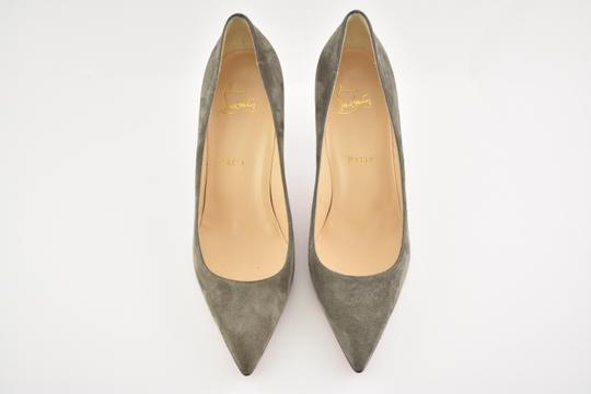 Christian Louboutin Decoltish Pigalle Stiletto Classic Suede grey Pumps