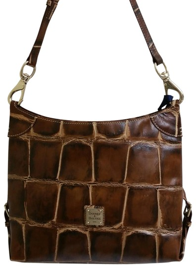 Preload https://img-static.tradesy.com/item/23631768/dooney-and-bourke-fredrica-brown-embossed-croc-leather-cross-body-bag-0-17-540-540.jpg