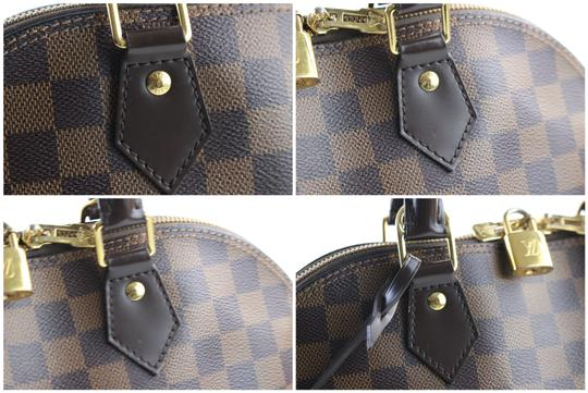 Louis Vuitton Damier Speedy Damier Neverfull Ebene Alma Alma Mm Alma Gm Satchel in Brown