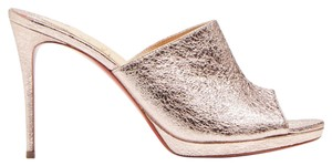 Christian Louboutin Pigalle Stiletto Classic Pigamule Mule rose gold Pumps