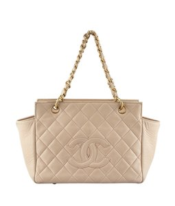 Chanel Leather Tote in Pink