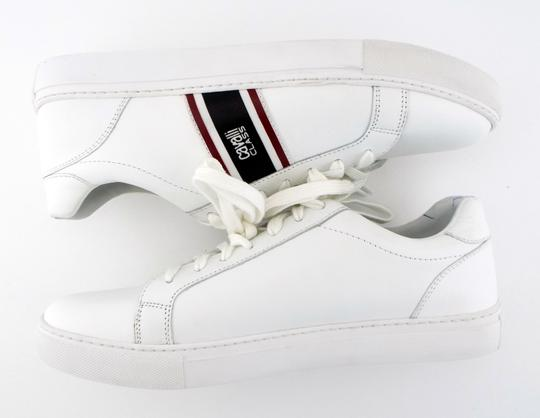 Roberto Cavalli White Class Leather Low Top Men's Sneakers Shoes