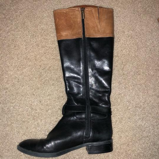 Vince Camuto Black/Tan Boots