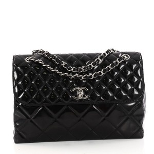 Chanel In The Business Patent Shoulder Bag