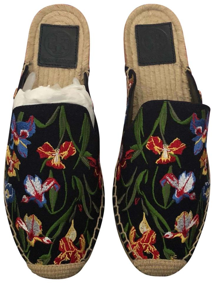 16a8209d726a Tory Burch Perfect Navy Embroidered Max Espadrille Flats. Size  US 7 ...