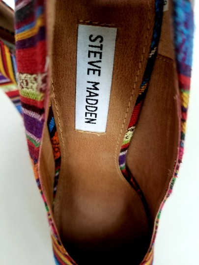 Steve Madden Multi-color Multi Jewel tones Wedges