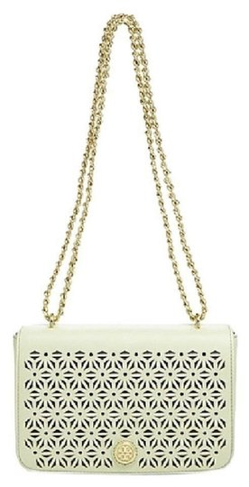 Preload https://img-static.tradesy.com/item/23632377/tory-burch-robinson-new-with-dustbag-floral-perforated-adjustable-green-leather-cross-body-bag-0-0-540-540.jpg