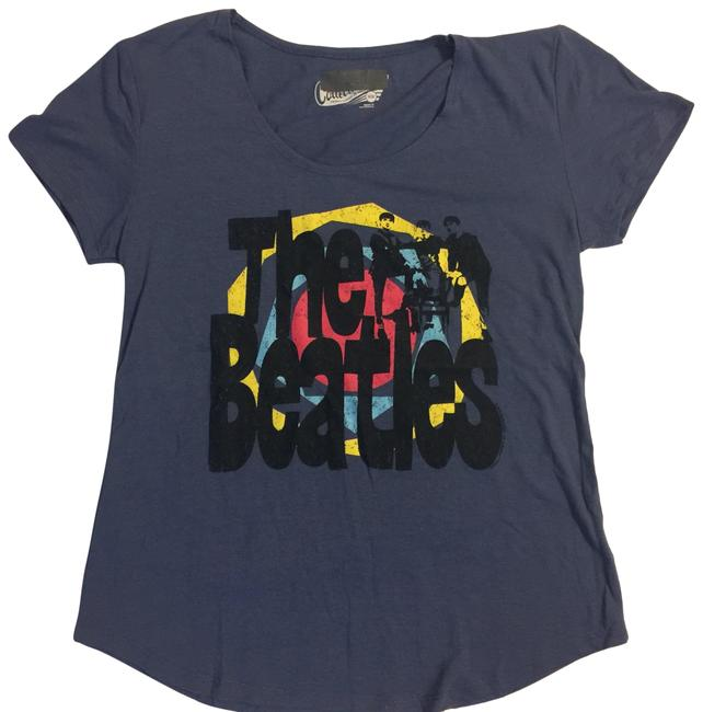Preload https://img-static.tradesy.com/item/23632398/collective-concepts-blue-beatles-tee-shirt-size-8-m-0-1-650-650.jpg
