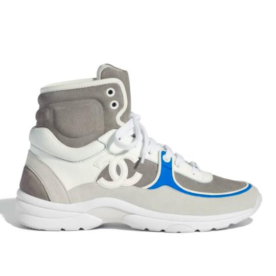 Preload https://img-static.tradesy.com/item/23632449/chanel-white-high-top-trainers-blue-gray-sneakers-flats-sneakers-size-eu-38-approx-us-8-regular-m-b-0-0-540-540.jpg