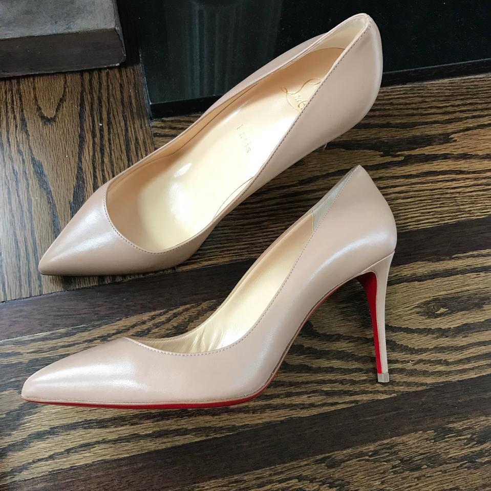 98417f8e3b55 Christian Louboutin Nude Pigalle Follies Nappa 85mm Stiletto Pumps Size EU  38.5 (Approx. US 8.5) Regular (M
