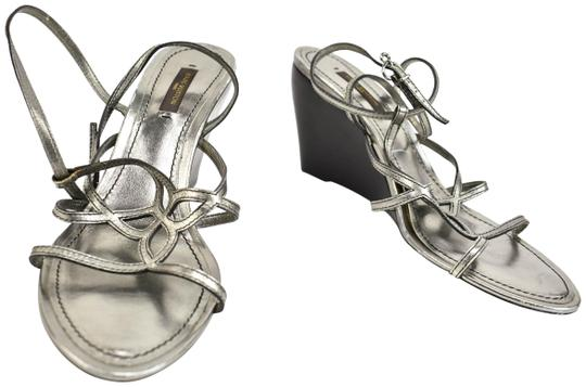 Preload https://img-static.tradesy.com/item/23632482/louis-vuitton-silver-leather-and-lv-flower-wedge-sandals-size-us-9-regular-m-b-0-1-540-540.jpg