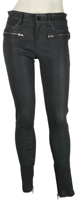 Preload https://img-static.tradesy.com/item/23632484/gray-leather-lambskin-stretch-leather-skinny-pants-size-2-xs-26-0-1-650-650.jpg